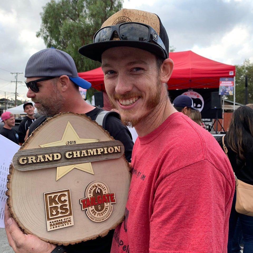 BZ Fuss Cooking Team won Grand Champion at the Spring Valley BBQ Festival
