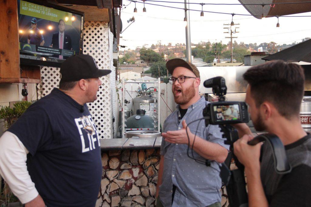 Eric Cacciatore tours Cali Comfort BBQ in Spring Valley, California