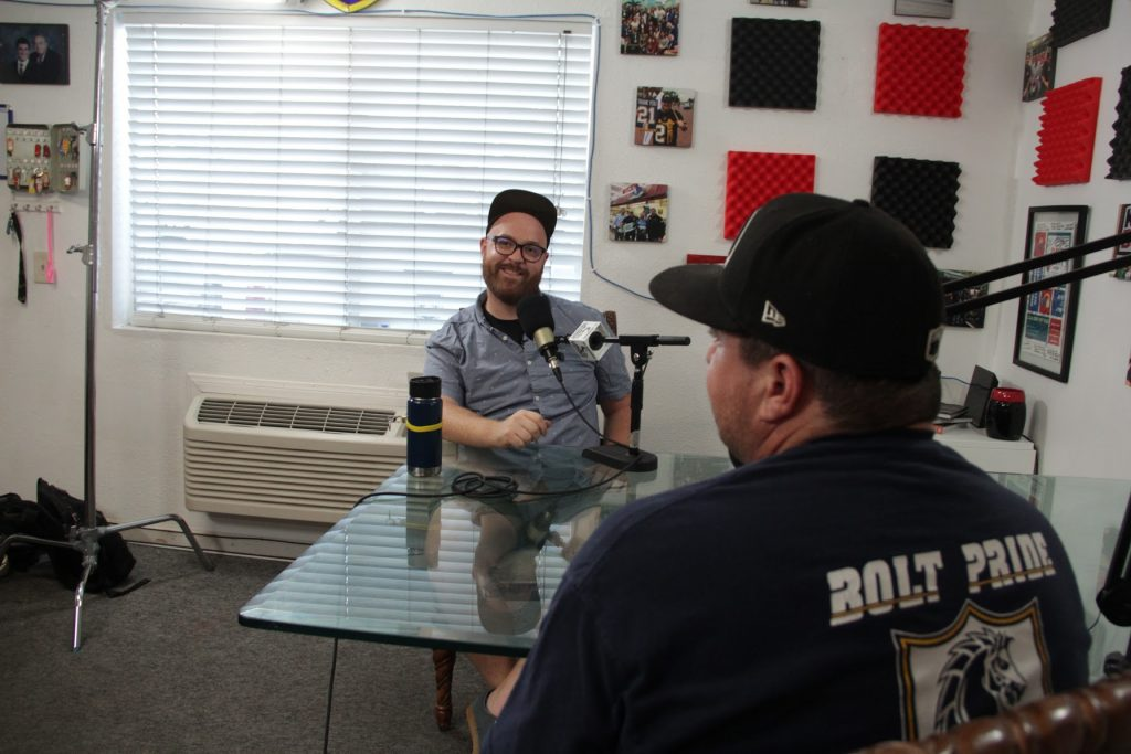 The Cali BBQ Media studio at Cali Comfort BBQ in Spring Valley