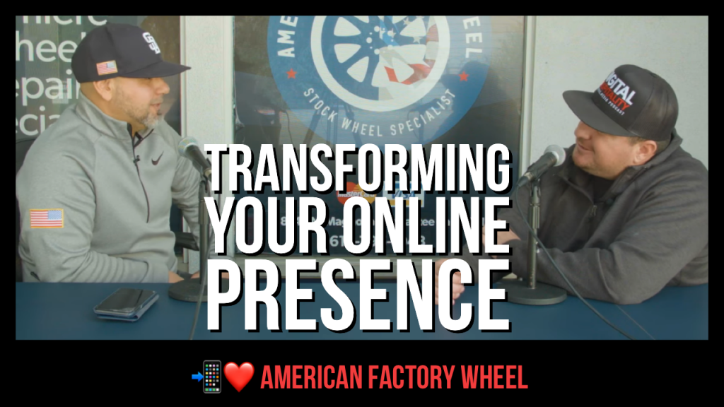 Transforming Your Online Presence episode of Digital Hospitality
