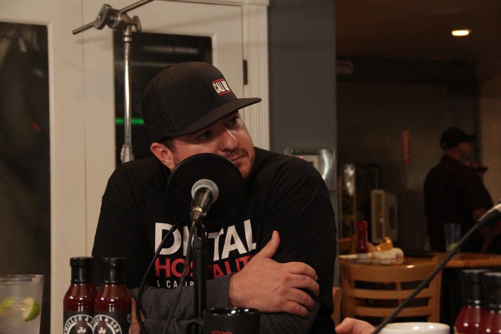 Shawn walchef hosts the digital hospitality podcast for his cali bbq media company