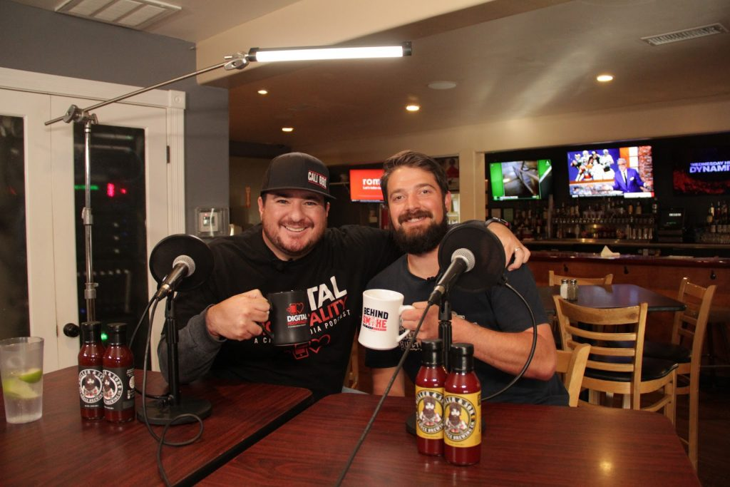 Shawn Walchef and Steve Miller on the Cali BBQ Media podcast Digital Hospitality