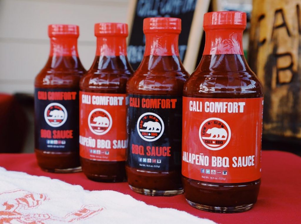 Cali Comfort BBQ Sauces