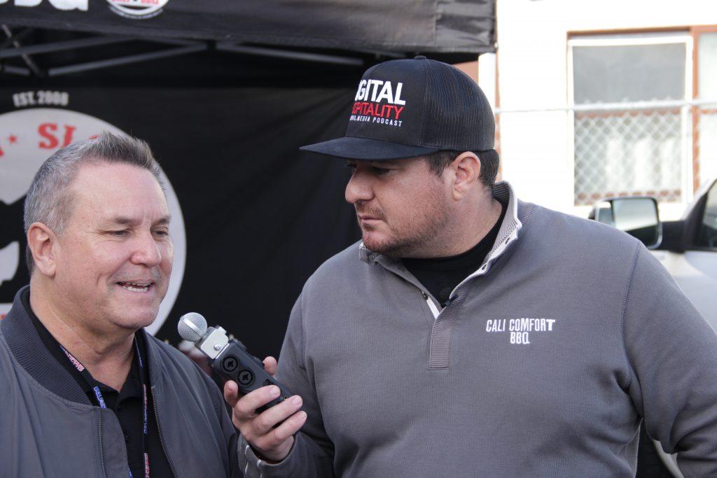 Shawn walchef talks to tommy sablan