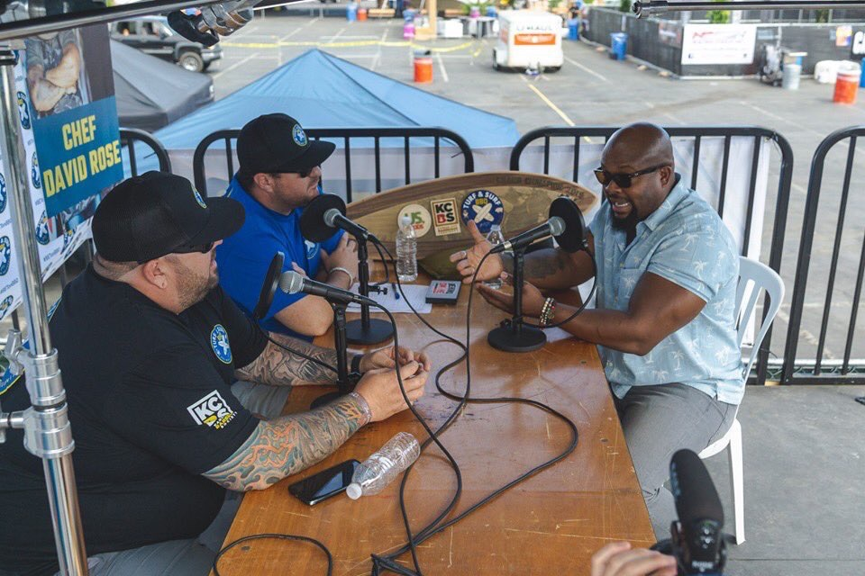 Chef David Rose appears on the Digital Hospitality podcast from Turf and Surf BBQ festival