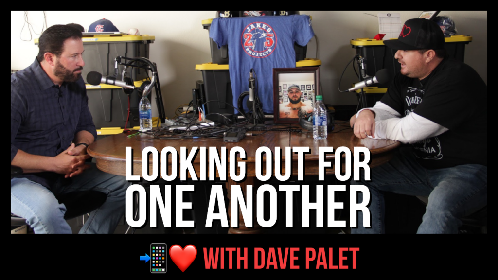 Looking Out for One Another featuring Dave Palet