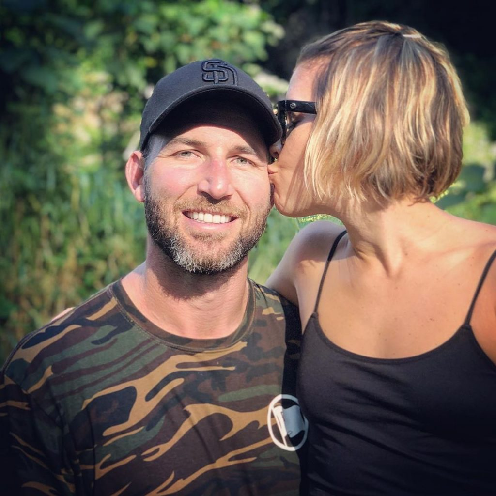 Nick Hardwick and his wife Jayme Hardwick