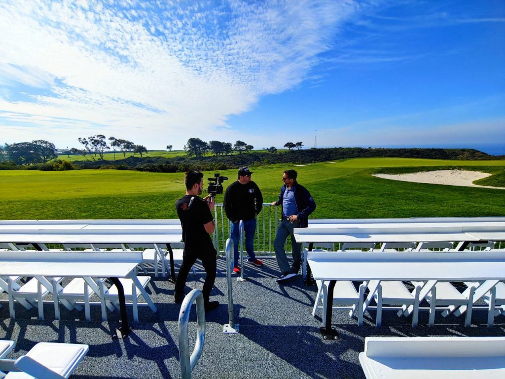 Torrey pines golf course hosts the farmers insurance open in 2020