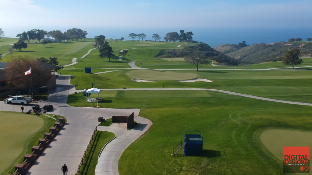The Torrey Pines Golf Course has beautiful views of the Pacific Ocean