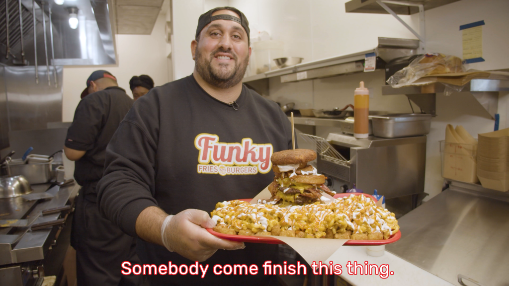 Sebastian hallak is the owner of the family run funky fries and burgers