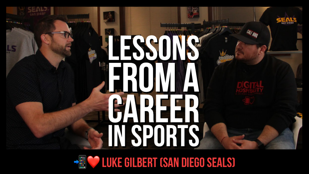Lessons from a career in sports featuring luke gilbert