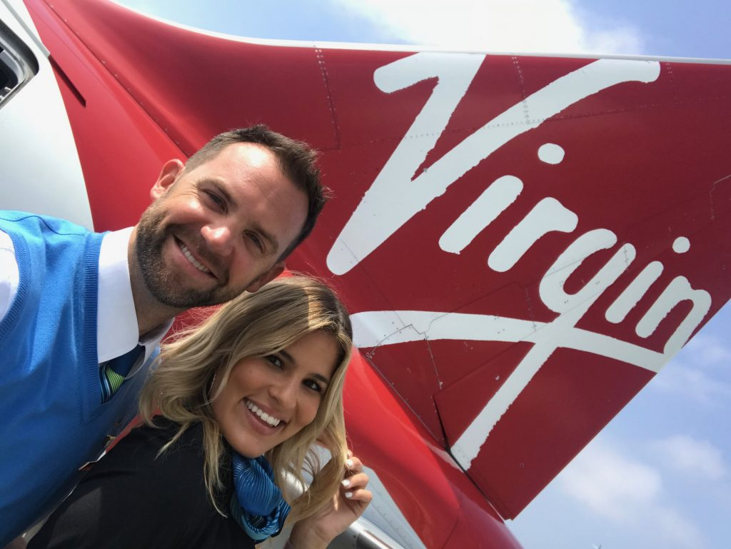 Luke Gilbert and Virgin Airlines