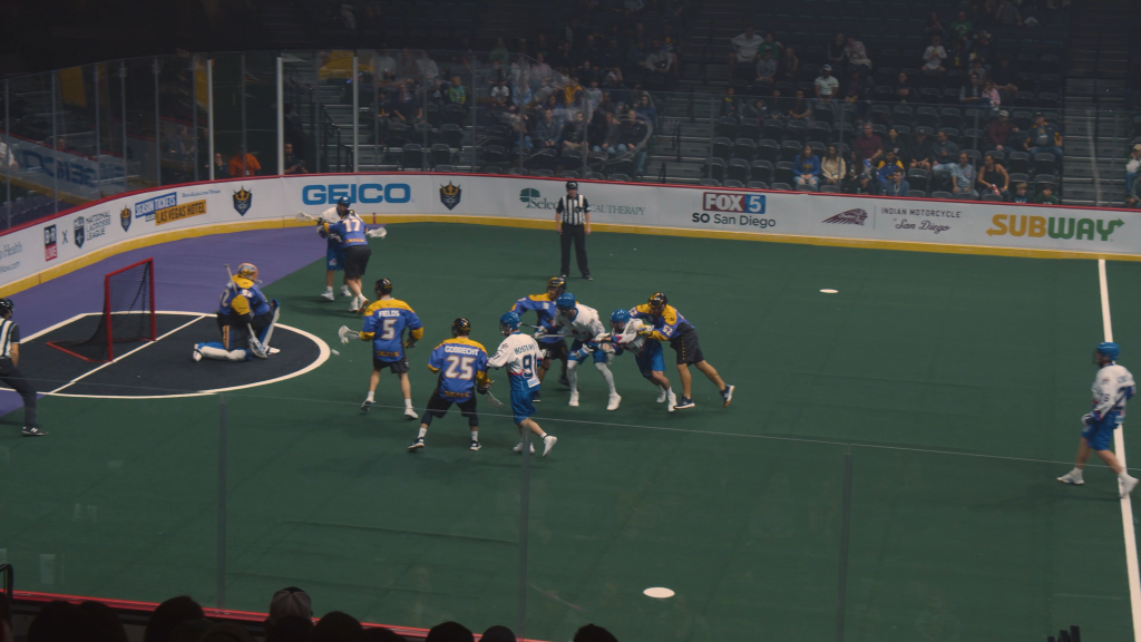 San Diego Seals Lacrosse Match at Pechanga Arena