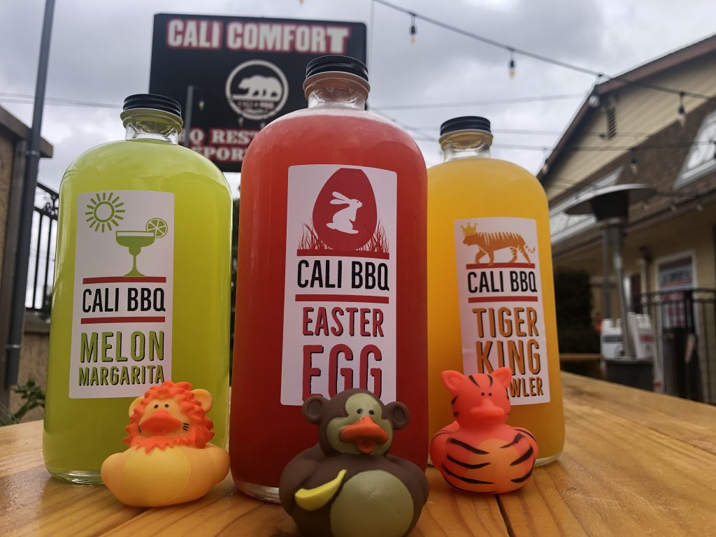 Cali BBQ Cocktails to Go in April 2020