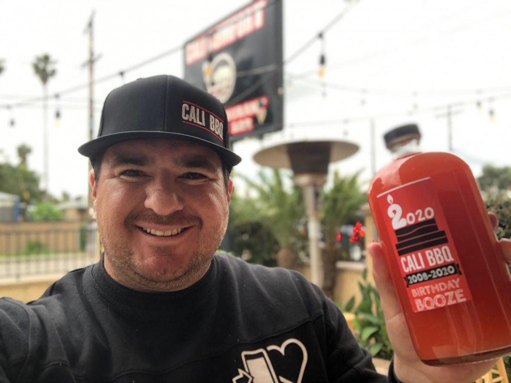 Drinks to Go at Cali BBQ 2020 April