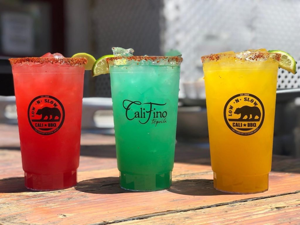Cali bbq alcohol to go in spring valley