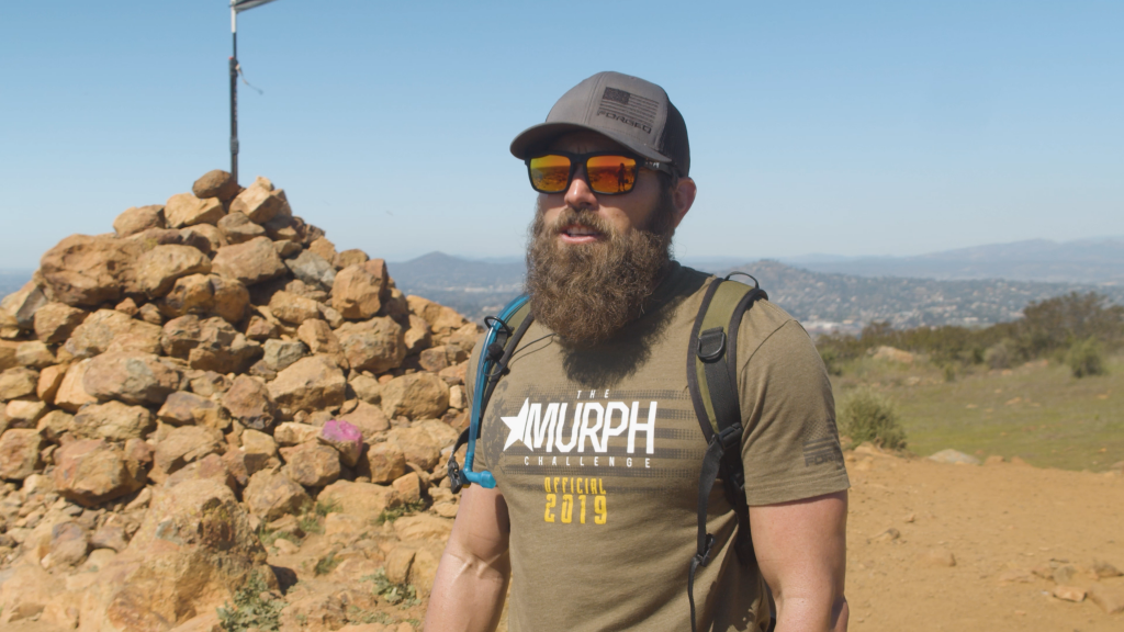 Mike sauers of forged on a hike in san diego