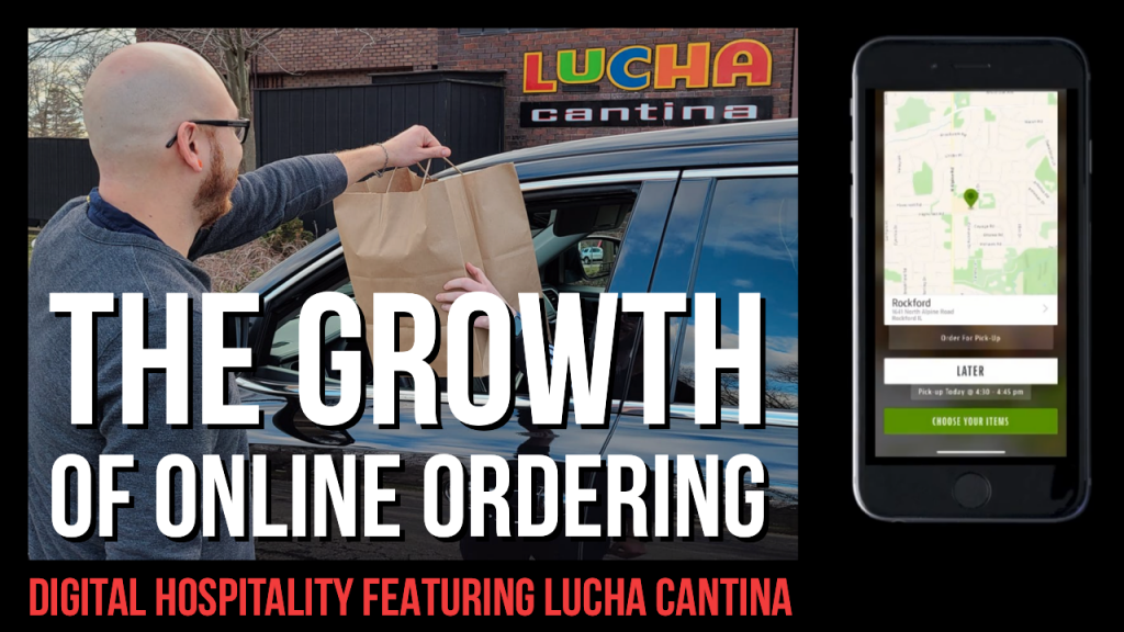 Digital hospitality podcast featuring lucha cantina's joshua binnings