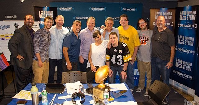 Lisa ann in 2014 in the howard stern show emotional friends league draft