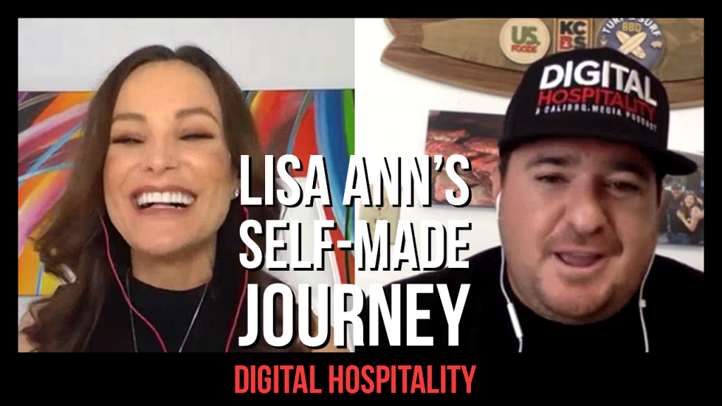 Lisa Ann Interview on Digital Hospitality podcast in 2020
