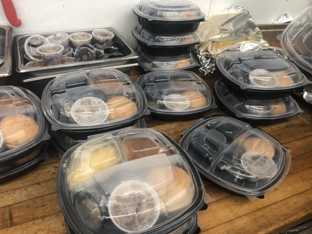 Meals to go from cali bbq