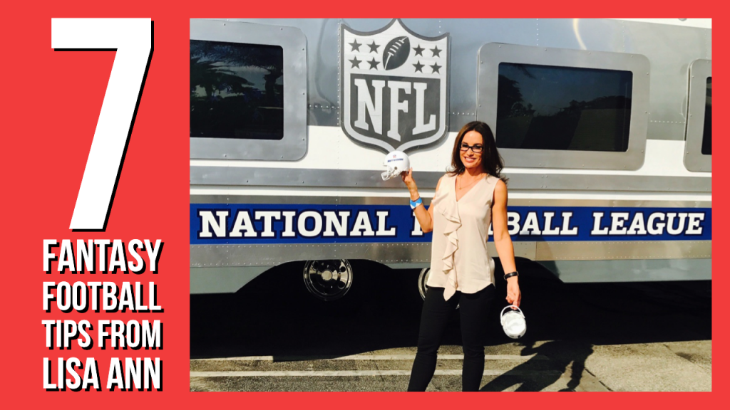 Fantasy football tips for 2020 by lisa ann