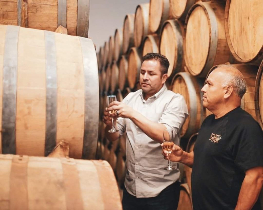 Califino tequila barrels