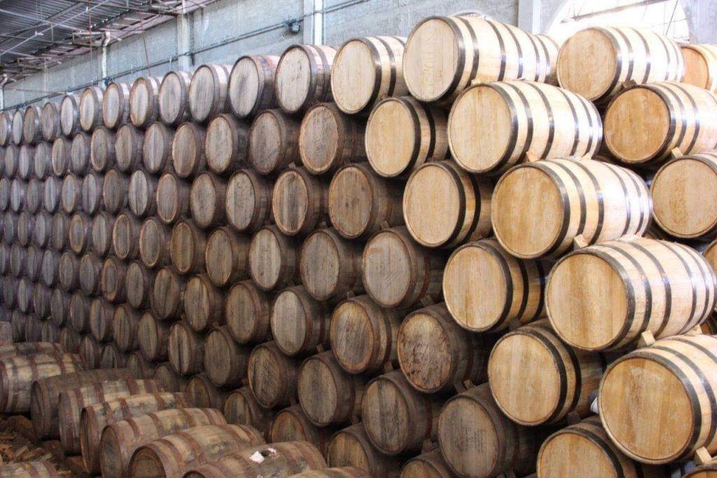 Tequila barrels califino