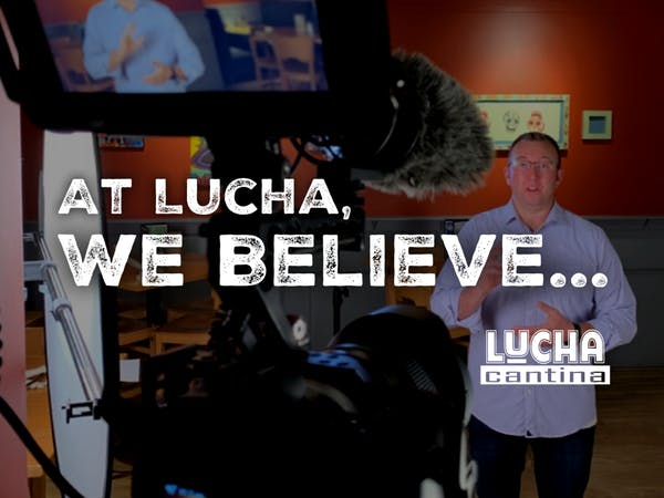 At lucha cantina we believe video shoot
