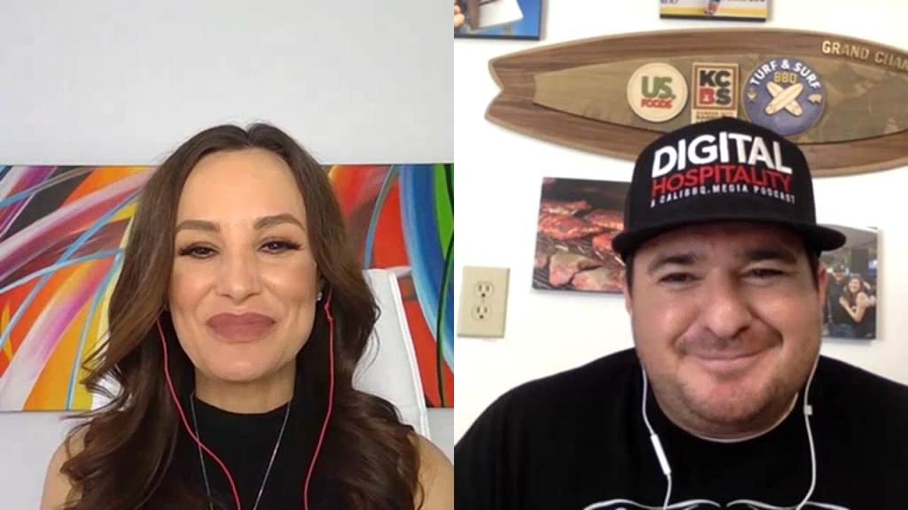 Lisa Ann talks with Shawn Walchef