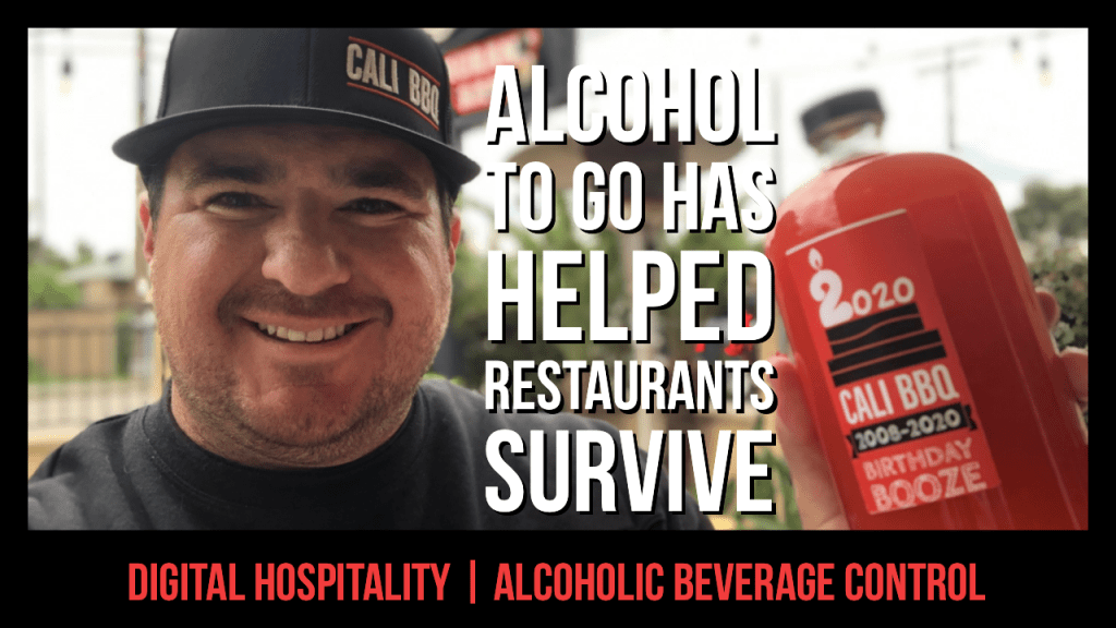 Alcohol to go has helped restaurants like cali bbq survive