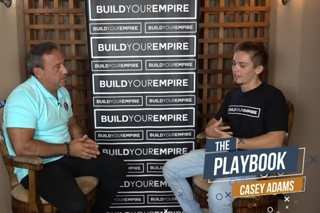 David Meltzer and Casey Adams on The Playbook podcast
