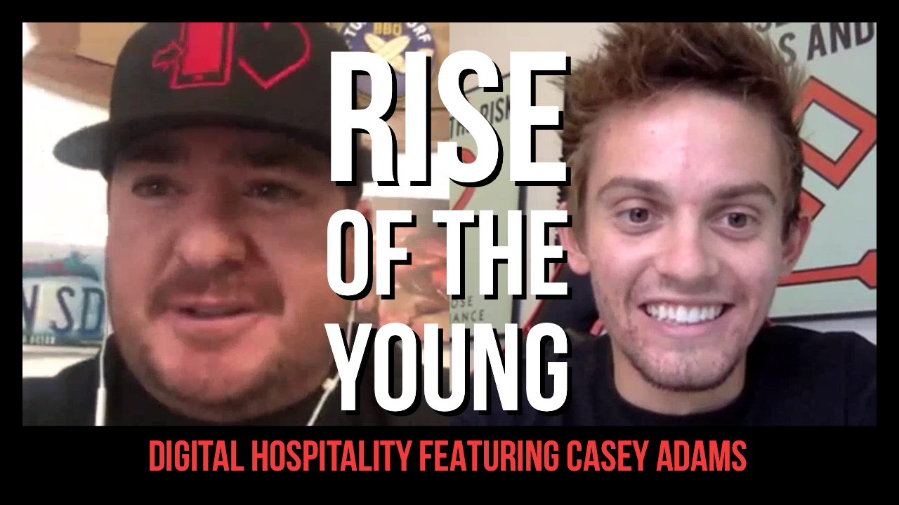 Casey Adams Podcast Interview Digital Hospitality