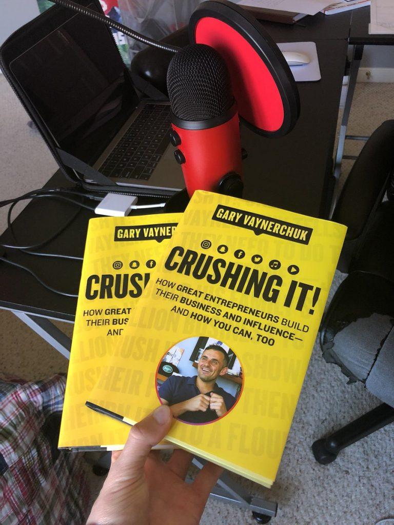 Gary Vee Book Crushing It