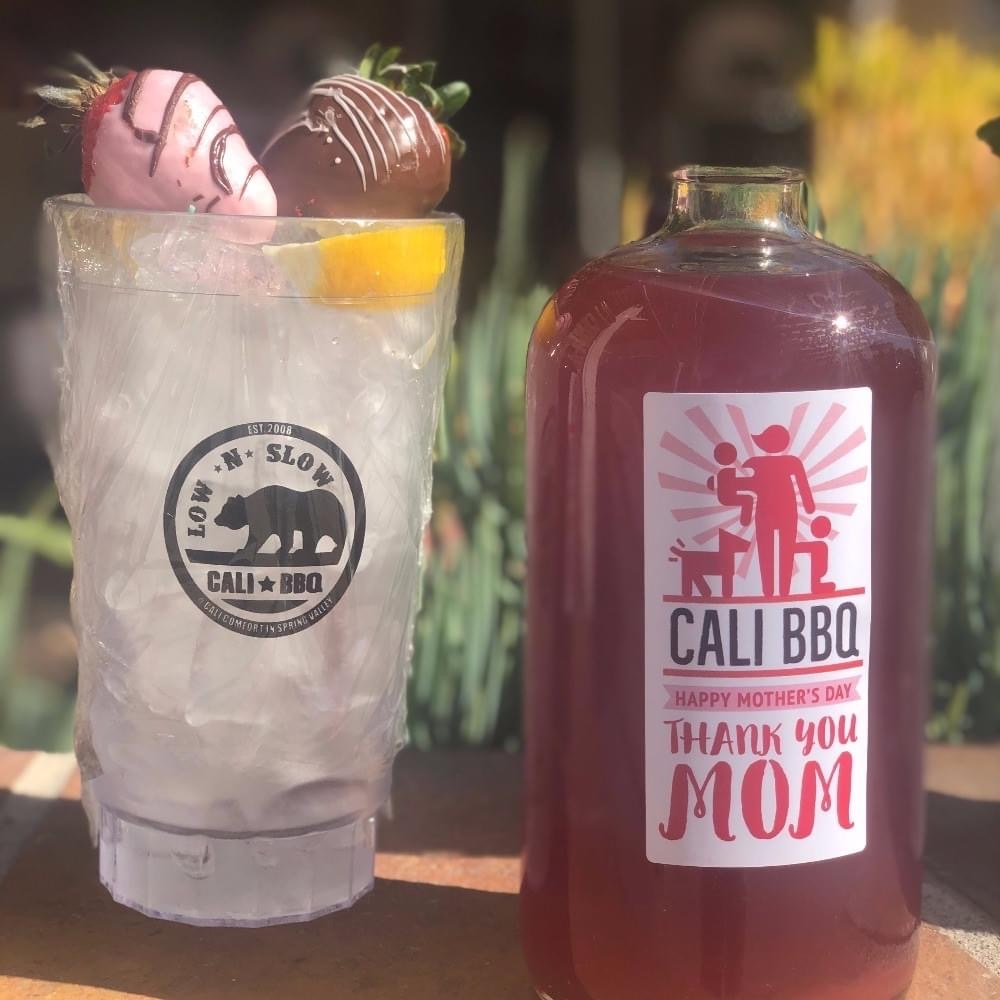 Mother's Day Cocktail Takeout 2020 at Cali BBQ