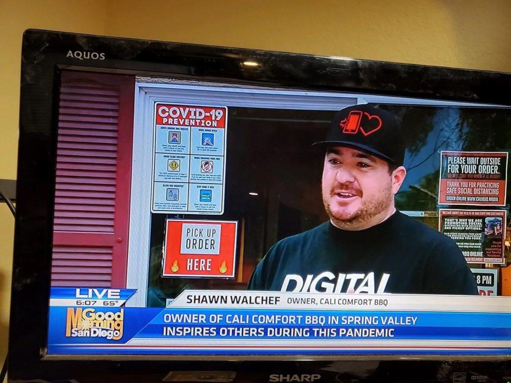 Shawn Walchef on KUSI Good Morning San Diego