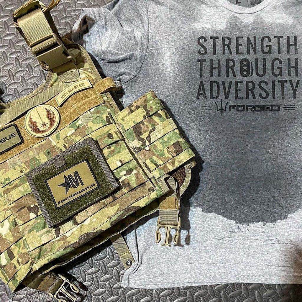 Strength through adversity forged murph challenge 2020