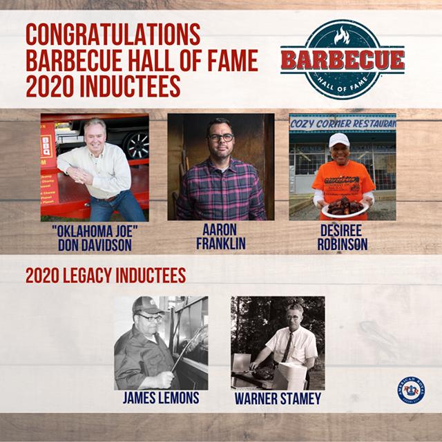 BBQ Hall of Fame 2020