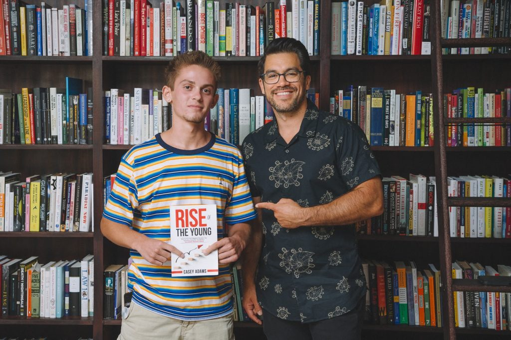 Casey Adams and Tai Lopez