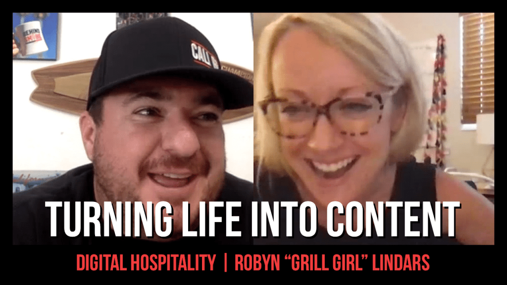 The grill girl lifestyle was all sparked by robyn medlin lindars' newfound fire regarding outdoor cooking and living in general.