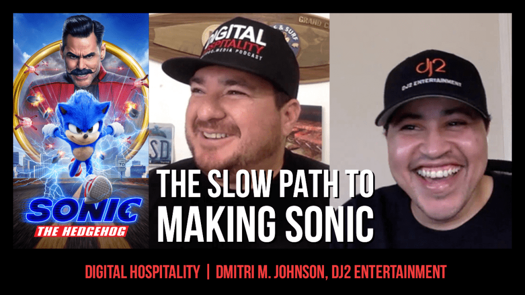 Dmitri M. Johnson of dj2 Entertainment on Digital Hospitality podcast
