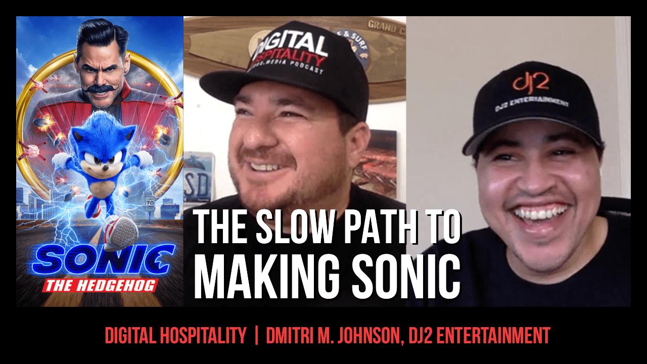 Dmitri M. Johnson of dj2 Entertainment on Digital Hospitality podcast