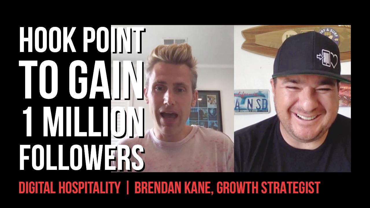 Brendan Kane on Digital Hospitality podcast guest