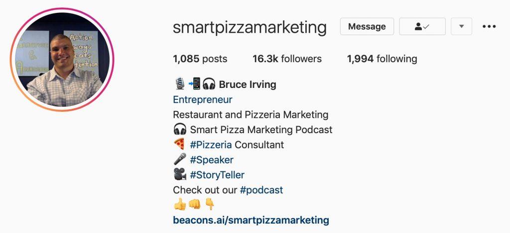 Bruce Irving Instagram