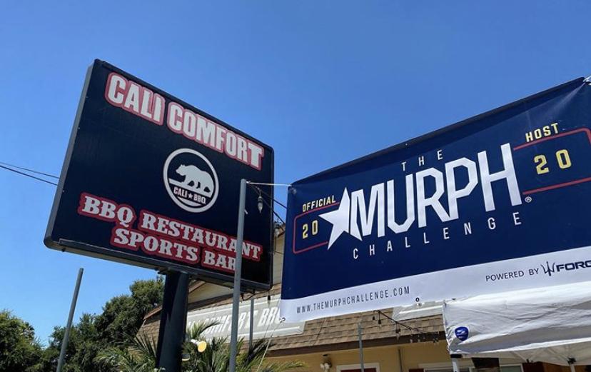 Murph challenge 2020 - josh palet - cali bbq host