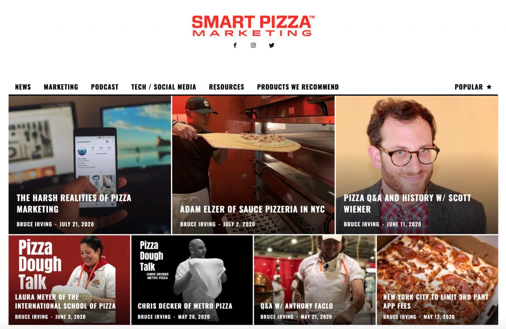 Smart Pizza Marketing Website