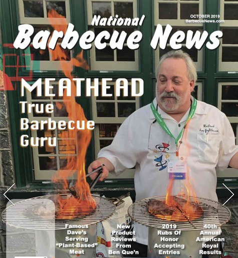 BBQ News Magazine Meathead Cover Article