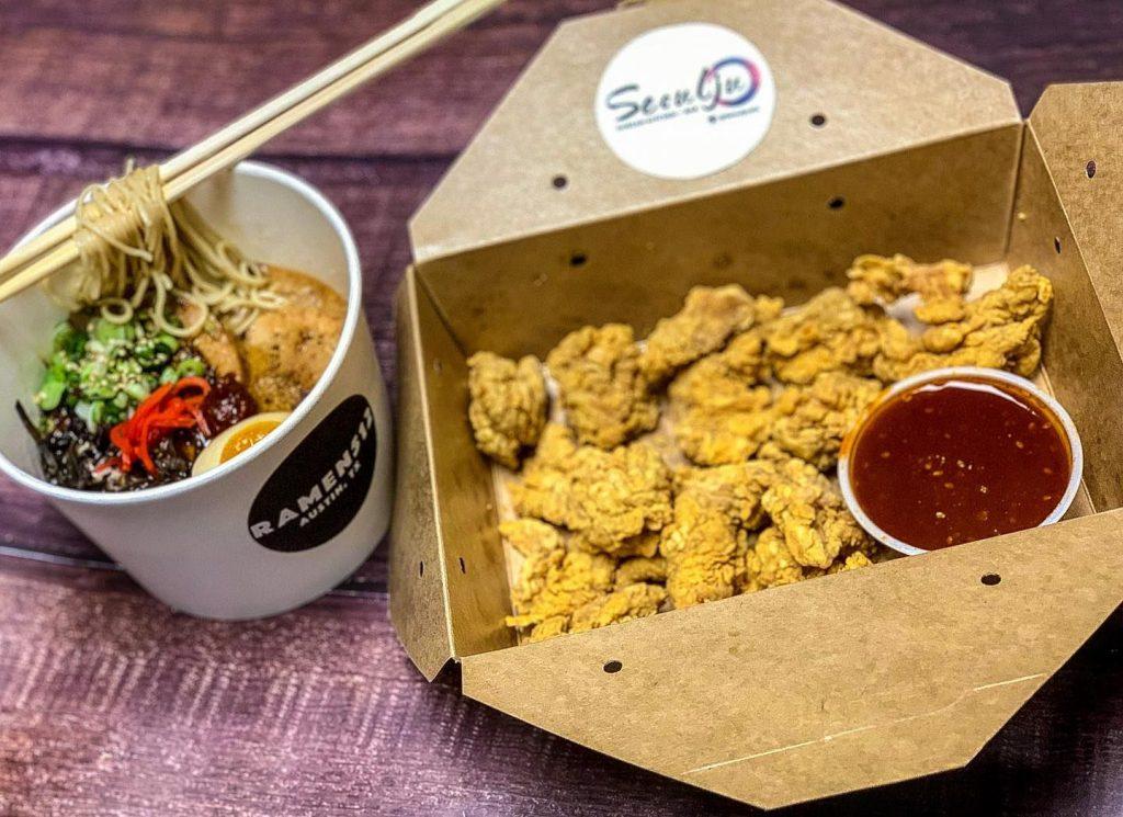 Seoulju fried chicken to go
