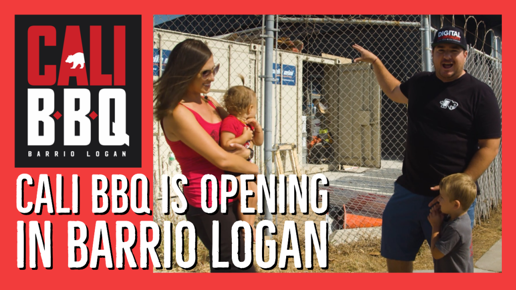 Cali bbq is opening a new location in barrio logan san diego for takeout and delivery