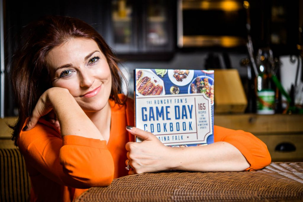 Hungry fan game day cookbook daina falk